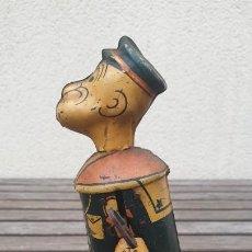 Giocattoli antichi di latta: ANTIGUO POPEYE MARX TOY -1935- DE HOJALATA (LATA) A CUERDA. FUNCIONA CORRECTAMENTE.. Lote 191389573