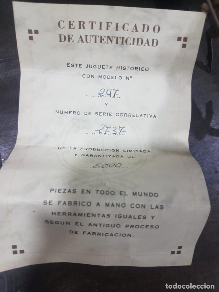 Juguetes antiguos de hojalata: TARTANA PAYA REPRODUCCION OFICIAL DE LOS 80 - Foto 4 - 191734916