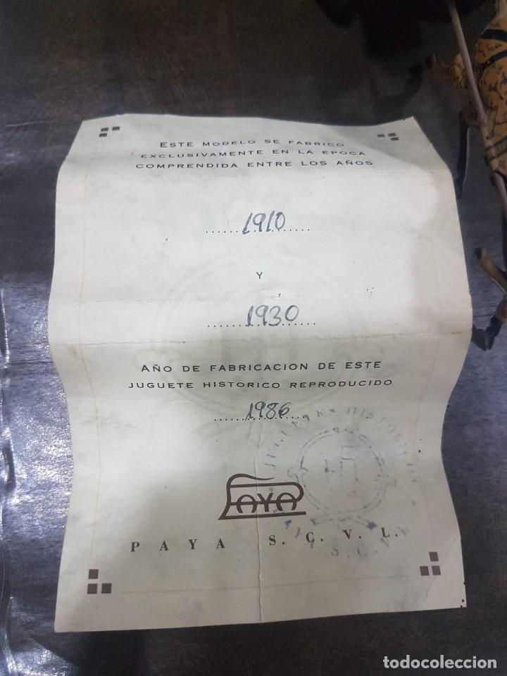 Juguetes antiguos de hojalata: TARTANA PAYA REPRODUCCION OFICIAL DE LOS 80 - Foto 7 - 191734916