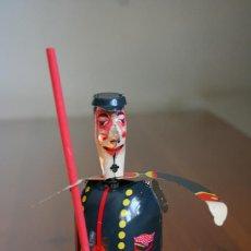 Juguetes antiguos de hojalata: BARRENDERO PAYA. Lote 192686042