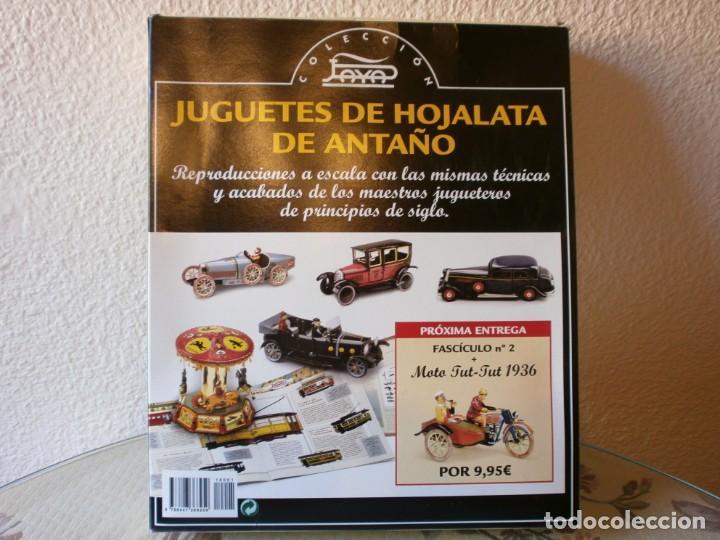Juguetes antiguos de hojalata: COLECCIÓN JUGUETES DE HOJALATA DE ANTAÑO - PAYÁ - PERIÓDICO SUR - COMPLETA! - Foto 5 - 192861843