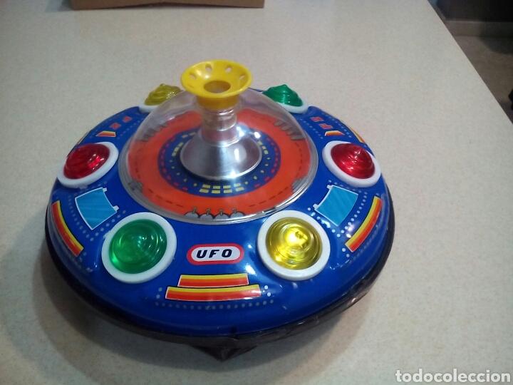NAVE UFO (Juguetes - Juguetes de Hojalata: Reproducciones y Actuales )