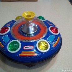 Juguetes antiguos de hojalata: NAVE UFO. Lote 193010635