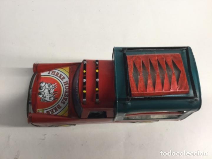 Juguetes antiguos de hojalata: TODOTERRENO DE CAMPO PICAT hojalata auténtica artesanía 100 % artesanal con latas - Foto 6 - 193214257