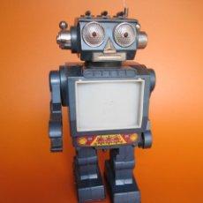 Juguetes antiguos de hojalata: ROBOT KOREA SPACE. Lote 193351703