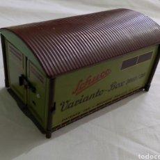 Juguetes antiguos de hojalata: GARAJE DE HOJALATA SCHUCO VARIANTO BOX 3010/30. Lote 193755481