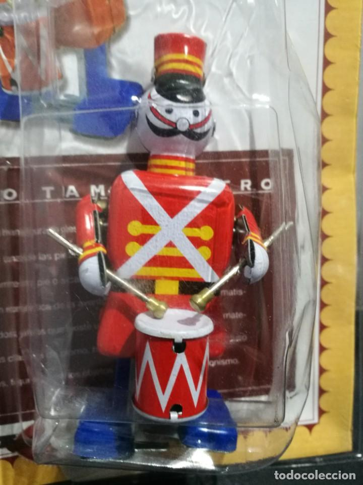 Juguetes antiguos de hojalata: Soldado Tamborilero con Llave, Replica juguete antiguo.1990. Drummer Soldier - Foto 2 - 194106902