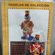 Juguetes antiguos de hojalata: SOLDADO TAMBORILERO CON LLAVE, REPLICA JUGUETE ANTIGUO.1990. DRUMMER SOLDIER. Lote 194106902