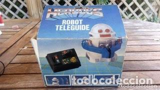 Juguetes antiguos de hojalata: ROBOT TELEGUIDE HERGOSS - SUPERTOYS 1983, MEDIDAS 10 X 9 CM - Foto 5 - 194193398