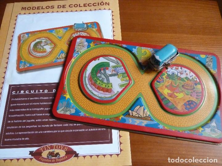 TIN TOYS-CIRCUITO DE CARRERAS·REPR. JUGUETE DE HOJALATA- MODELOS DE COLECCION (Juguetes - Juguetes de Hojalata: Reproducciones y Actuales )