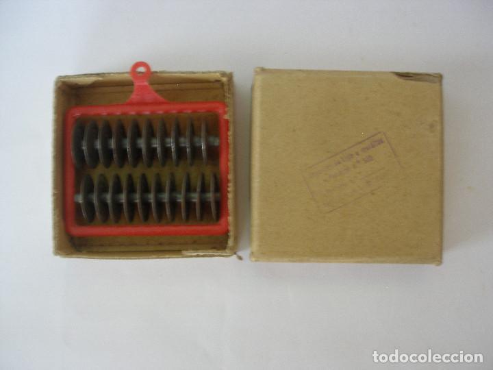 ACCESORIO DE TRACTOR RICO - REF 348 - AÑOS 40 - 50 , SIN USO EN CAJA ORIGINAL (Juguetes - Juguetes Antiguos de Hojalata Españoles)