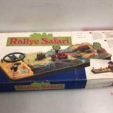 Juguetes antiguos de hojalata: RALLYE SAFARI MATTEL AUTOCROSS AÑOS 80. Lote 194637445