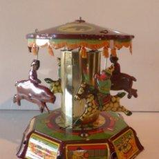 Juguetes antiguos de hojalata: TIOVIVO DE PAYA. JUGUETE DE HOJALATA. Lote 194689298