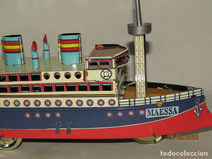 Juguetes antiguos de hojalata: Barco Transatlántico de 1931 Edición Limitada y Numerada de PAYÁ para MAESSA NAVAL - Foto 2 - 194723847