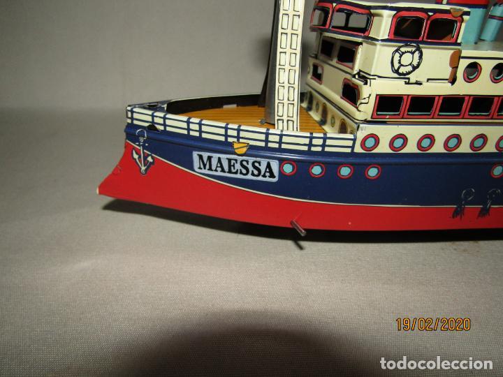 Juguetes antiguos de hojalata: Barco Transatlántico de 1931 Edición Limitada y Numerada de PAYÁ para MAESSA NAVAL - Foto 4 - 194723847