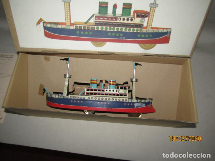 Juguetes antiguos de hojalata: Barco Transatlántico de 1931 Edición Limitada y Numerada de PAYÁ para MAESSA NAVAL - Foto 6 - 194723847