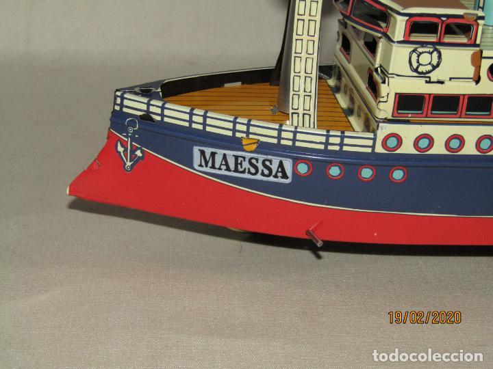 Juguetes antiguos de hojalata: Barco Transatlántico de 1931 Edición Limitada y Numerada de PAYÁ para MAESSA NAVAL - Foto 9 - 194723847