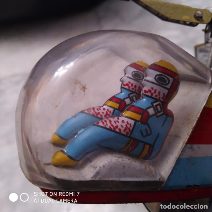 Juguetes antiguos de hojalata: Helicóptero hojalata friccion - Foto 2 - 194733071