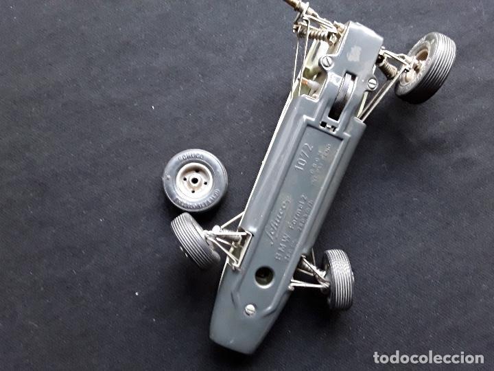 Juguetes antiguos de hojalata: COCHE BMW FORMEL 2 SCHUCO 1072,CHASIS METALICO Y CARROCERIA PLASTICO DURO,DE CUERDA - Foto 3 - 194750060