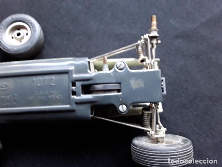 Juguetes antiguos de hojalata: COCHE BMW FORMEL 2 SCHUCO 1072,CHASIS METALICO Y CARROCERIA PLASTICO DURO,DE CUERDA - Foto 4 - 194750060