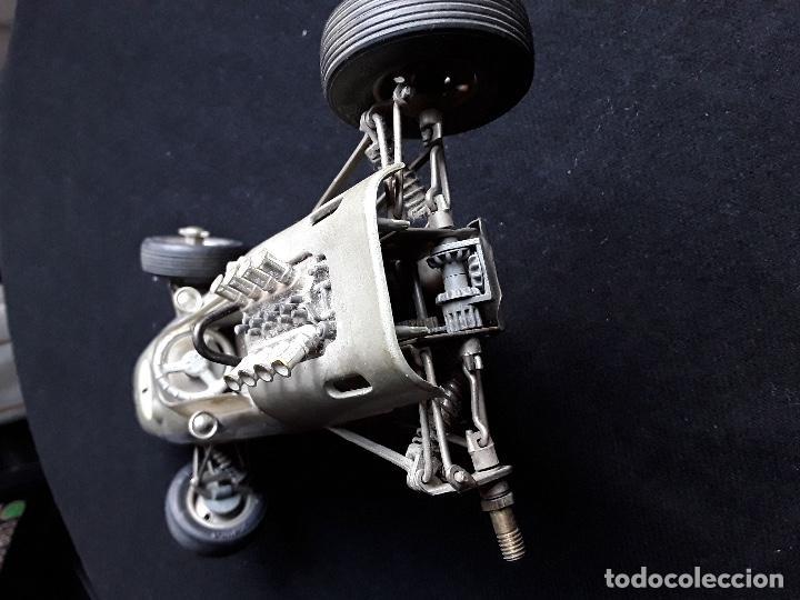 Juguetes antiguos de hojalata: COCHE BMW FORMEL 2 SCHUCO 1072,CHASIS METALICO Y CARROCERIA PLASTICO DURO,DE CUERDA - Foto 7 - 194750060
