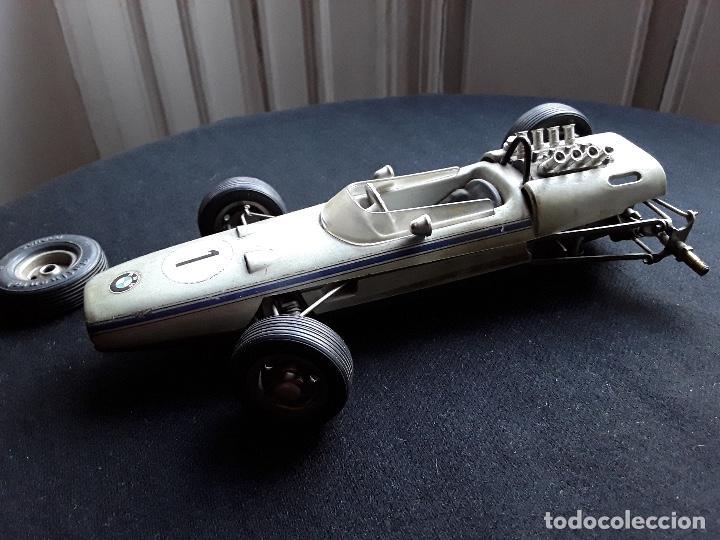 Juguetes antiguos de hojalata: COCHE BMW FORMEL 2 SCHUCO 1072,CHASIS METALICO Y CARROCERIA PLASTICO DURO,DE CUERDA - Foto 9 - 194750060