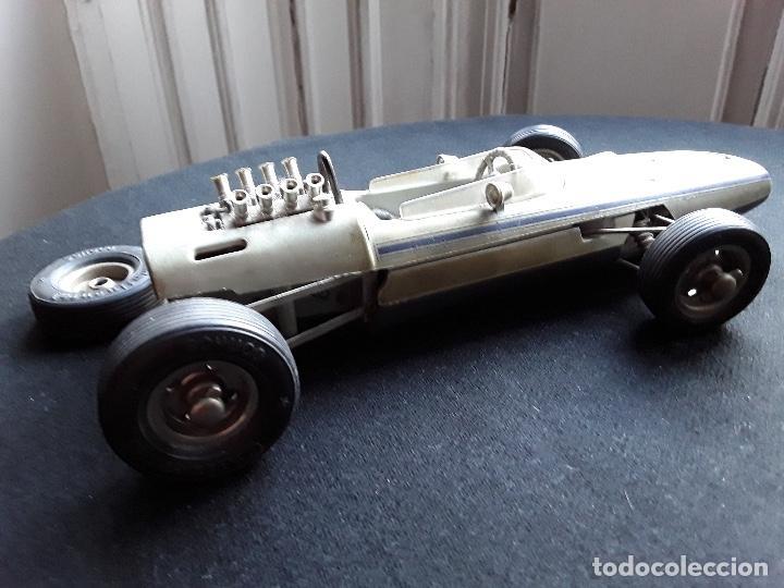 Juguetes antiguos de hojalata: COCHE BMW FORMEL 2 SCHUCO 1072,CHASIS METALICO Y CARROCERIA PLASTICO DURO,DE CUERDA - Foto 10 - 194750060