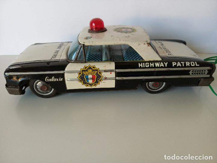 Juguetes antiguos de hojalata: Ford Galaxie Highway Patrol - ASC Aoshin - Japan (#02) - Foto 2 - 195041833