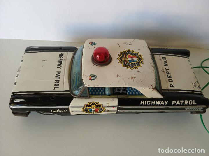 Juguetes antiguos de hojalata: Ford Galaxie Highway Patrol - ASC Aoshin - Japan (#02) - Foto 3 - 195041833