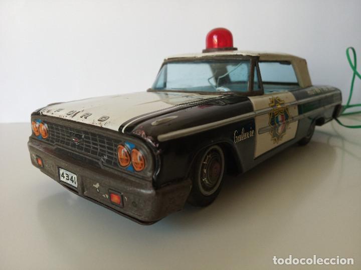 Juguetes antiguos de hojalata: Ford Galaxie Highway Patrol - ASC Aoshin - Japan (#02) - Foto 4 - 195041833