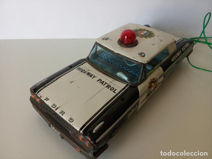 Juguetes antiguos de hojalata: Ford Galaxie Highway Patrol - ASC Aoshin - Japan (#02) - Foto 5 - 195041833