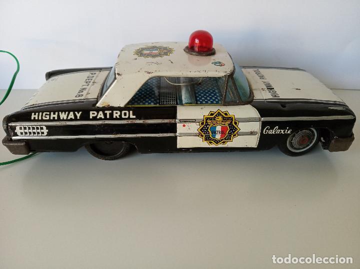 Juguetes antiguos de hojalata: Ford Galaxie Highway Patrol - ASC Aoshin - Japan (#02) - Foto 6 - 195041833