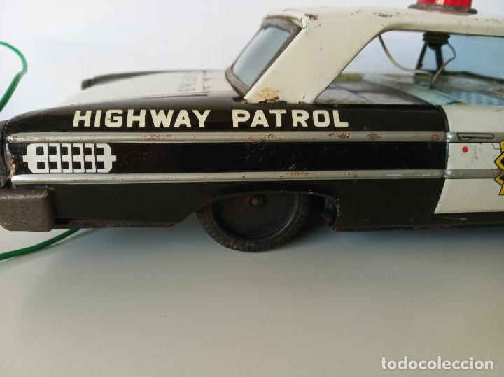 Juguetes antiguos de hojalata: Ford Galaxie Highway Patrol - ASC Aoshin - Japan (#02) - Foto 7 - 195041833