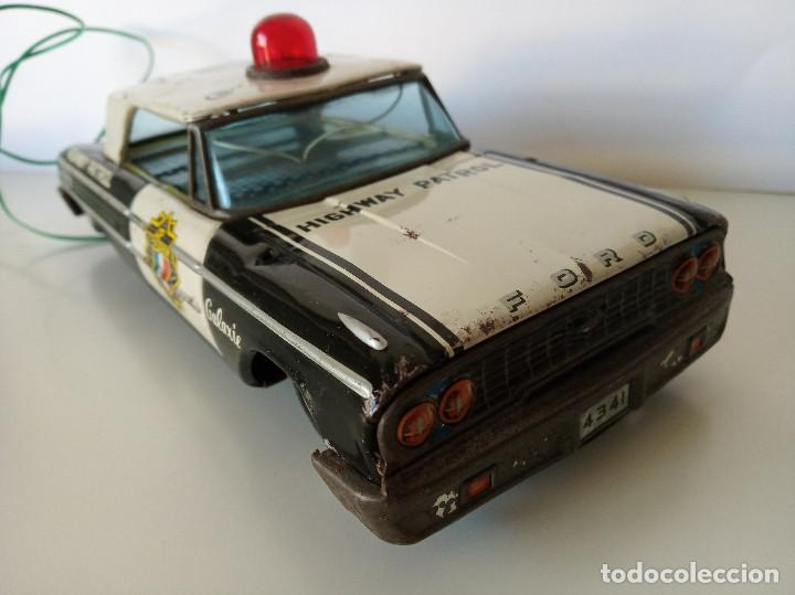 Juguetes antiguos de hojalata: Ford Galaxie Highway Patrol - ASC Aoshin - Japan (#02) - Foto 8 - 195041833