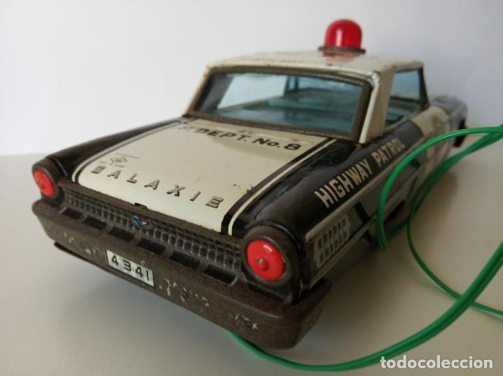 Juguetes antiguos de hojalata: Ford Galaxie Highway Patrol - ASC Aoshin - Japan (#02) - Foto 10 - 195041833