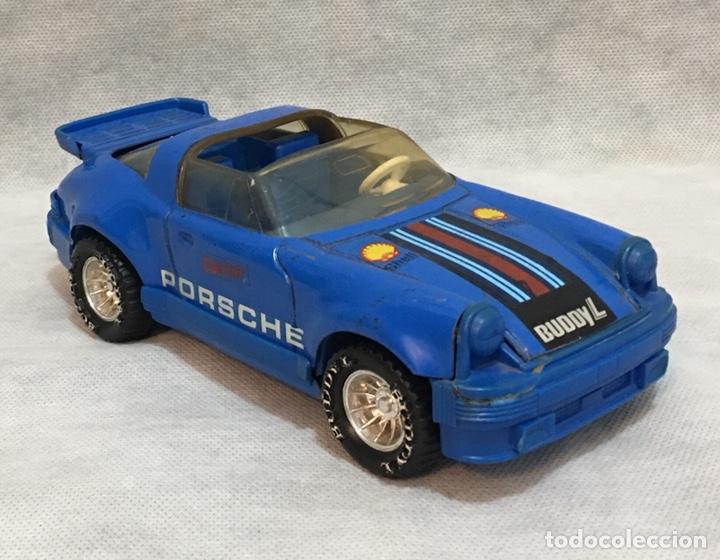 Juguetes antiguos de hojalata: Porsche Buddy L Corp de hojalata antiguo - Foto 3 - 195244330
