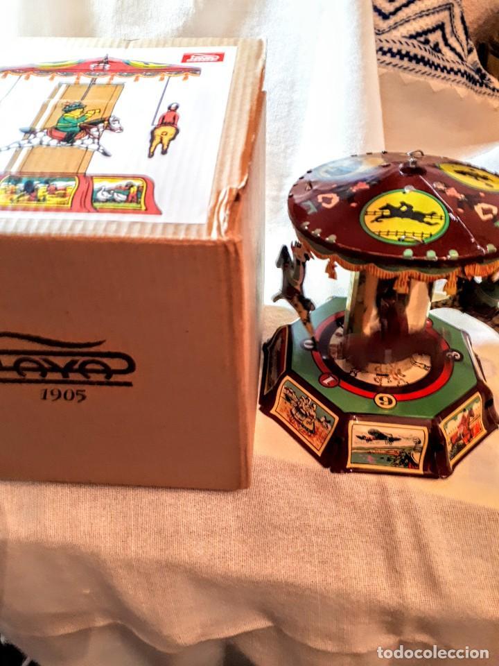 Juguetes antiguos de hojalata: Reproducción antiguo juguete PAYA - Foto 3 - 195273375