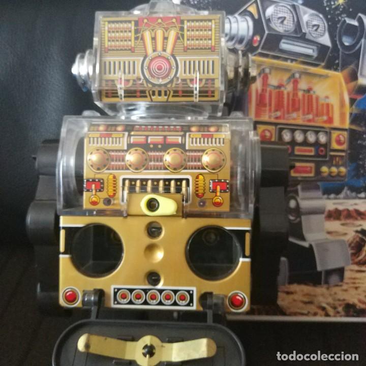 Juguetes antiguos de hojalata: Piston Robot Horikawa SH Nuevo a Estrenar de Jugueteria - Foto 5 - 195303315