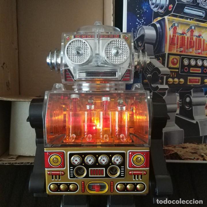 Juguetes antiguos de hojalata: Piston Robot Horikawa SH Nuevo a Estrenar de Jugueteria - Foto 3 - 195303315