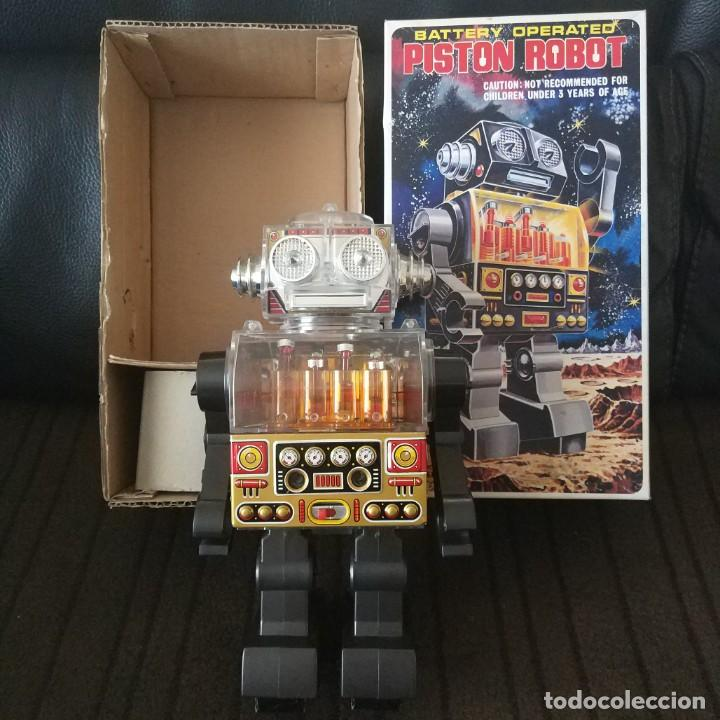 Juguetes antiguos de hojalata: Piston Robot Horikawa SH Nuevo a Estrenar de Jugueteria - Foto 2 - 195303315