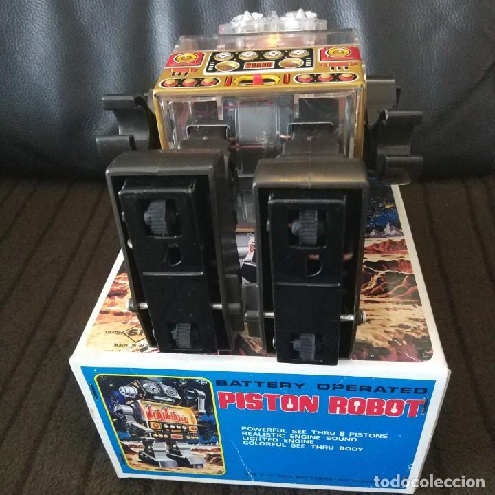 Juguetes antiguos de hojalata: Piston Robot Horikawa SH Nuevo a Estrenar de Jugueteria - Foto 9 - 195303315