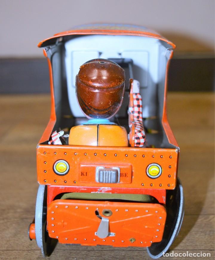 Juguetes antiguos de hojalata: Antigua Locomotora Hojalata Csengos Mozdony Hungria 80,s - Foto 7 - 195311275