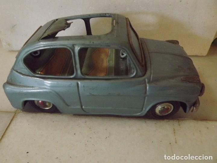 BANDAI,FIAT 600 (Juguetes - Juguetes Antiguos de Hojalata Extranjeros)