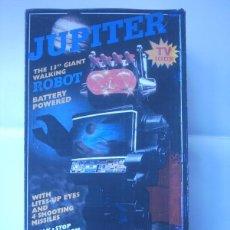 Juguetes antiguos de hojalata: ROBOT KAMCO -JUPITER -ROBOT TELEVISION. Lote 195413477
