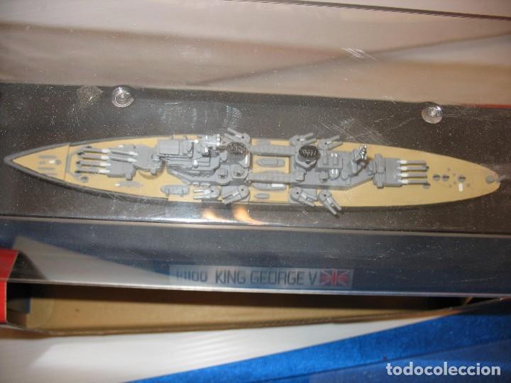 Juguetes antiguos de hojalata: barco de schuco esc. 1:1100 king george v - Foto 5 - 198048820