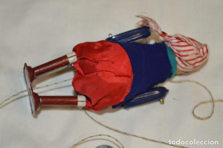 Juguetes antiguos de hojalata: TPS - CLIMBING PIRATE / Made In Japan - Hojalata Litografiada - Funcionando - Años 50/60 ¡Mira! - Foto 5 - 198361428