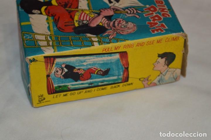 Juguetes antiguos de hojalata: TPS - CLIMBING PIRATE / Made In Japan - Hojalata Litografiada - Funcionando - Años 50/60 ¡Mira! - Foto 14 - 198361428