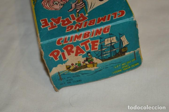 Juguetes antiguos de hojalata: TPS - CLIMBING PIRATE / Made In Japan - Hojalata Litografiada - Funcionando - Años 50/60 ¡Mira! - Foto 15 - 198361428