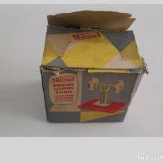Juguetes antiguos de hojalata: MAMOD.MAQUINA PULIDORA.MECCANO. Lote 199762206