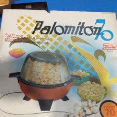 Juguetes antiguos de hojalata: PALOMITON AÑOS 70 COMPLETO. Lote 199989072
